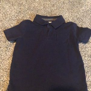 Navy blue Hanna Andersson toddler polo!